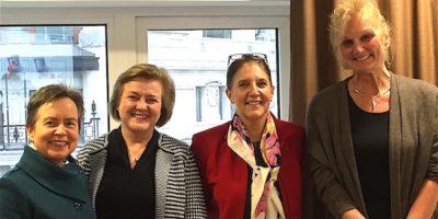 Visit by IWF CEO Stephanie Mathews O'Keefe