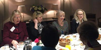 IWF UK Breakfast with Professor Susan Vinnicombe CBE