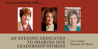 In conversation with. . .Geraldine Sharpe-Newton and Angela Holdsworth