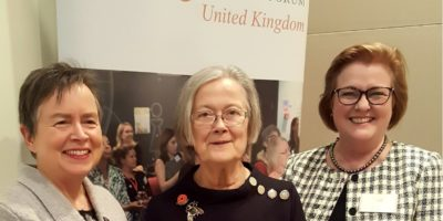 Outstanding evening with Baroness Hale